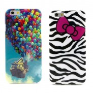 Funda preciosa Iphone 6 Plus con lazo de globo