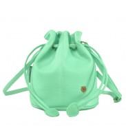 Dulce Linda Mini Sólido con cordón Cubo Bolsa Bolsa de mensajero Bolsa de hombro