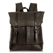 Mochila casual para estudiantes universitarios de cuero con mochila nueva de viaje para mujeres británicas