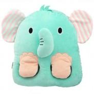 Calzado USB de carga de oficina Warm Shoes Calentador de pie de elefante Fox Fox Animal Warm