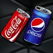 Creativo disfrazado retro Pepsi Coca Cola Nokia desmontable Grabadora cámara píldora caso de la cámara Iphone 7/7 plus casos