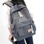 Mochila de viaje de mochila de escuela grande de Oxford de ocio de paño simple de niña simple