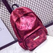 Ocio Estrella brillante Mochila grande de viaje de la escuela mochila impermeable