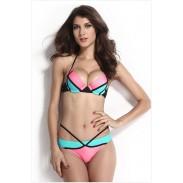 Geometría Sexy Ajustable Correa Bikini