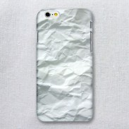 Funda de Iphone 6 / 6s de papel blanco cóncavo convexo creativo