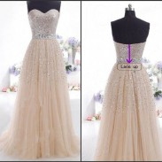 Vestido largo de la gasa de las lentejuelas de las mujeres elegantes Vestido formal largo Vestido de noche de la dama de honor del baile de fin de curso Vestido maxi