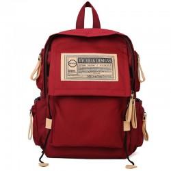 Bolso de trabajo de negocios impermeable para estudiantes de diseño único de 15.6 pulgadas elegante bolso para computadora portátil universitaria mochila escolar