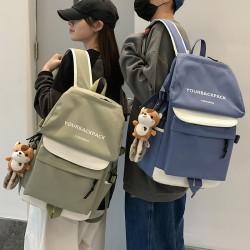 Bolsa deportiva de moda YOURBACKPACK Mochila de viaje para pareja joven Mochila para portátil de 15 pulgadas Mochila escolar impermeable