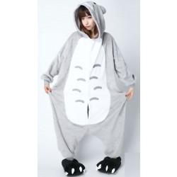 Pijama de una pieza de franela de dinosaurio Sweet Cartoon