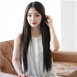 Pelucas de pelo recto largo cosplay de alta calidad