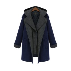 Cazadora de abrigo de lana multifuncional única Parkbreak Parkas