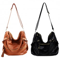 Nice Tassel Leather  Cross Body Shoulder Bag &Handbags