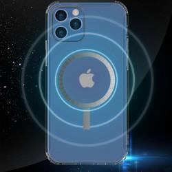 Nuevo estuche Magsafe magnético transparente a prueba de caídas para Iphone 12 Pro Max