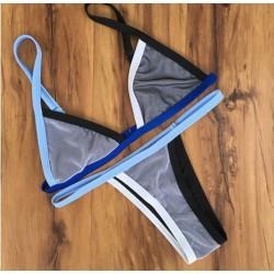 Sexy Malla Tanga traje de baño Bikini de verano traje de baño traje de baño