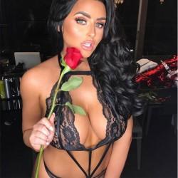 Perspectiva negra sexy encaje tentación conjunta mujeres lencería íntima