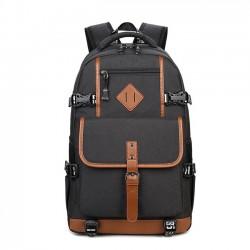 Bolso de la computadora del bolso impermeable de Oxford del paño de la moda Mochila grande de los hombres al aire libre del viaje