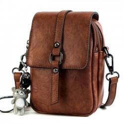 Moda linda plaza única hebilla de señora Messenger Bag bandolera