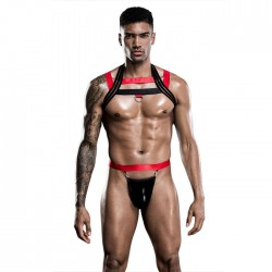 Sexy bretelles simples hauts bar discothèque culottes sous-vêtements lingerie pour hommes