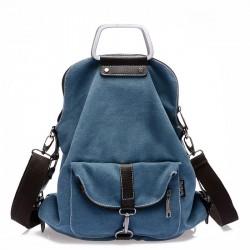 Hombro de múltiples funciones de moda bolsa de mano y mochila