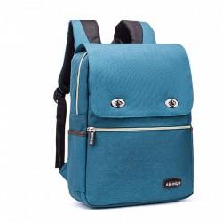 Bolso grande simple del estudiante del estilo británico de la mochila de la mochila de la escuela grande