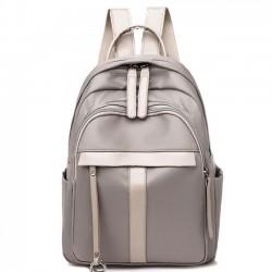Ocio bolso de estudiante de color puro simple mochila de viaje al aire libre