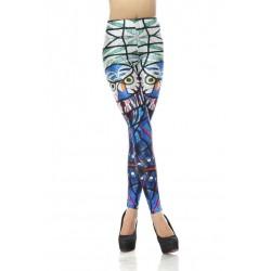 Fashion Glass Parrot Printed Leggings