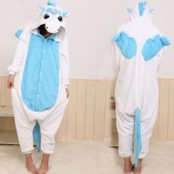 Franela Dibujos animados Unicornio Animal Pieza Pijama