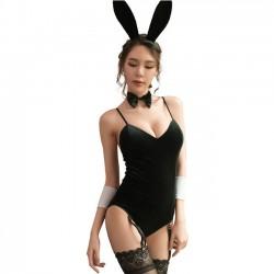 Sexy Cosplay Conejo Niña Unido Lencería íntima de las mujeres