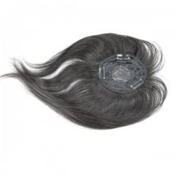 Recto cabello humano virgen 8 pulgadas cierre de encaje