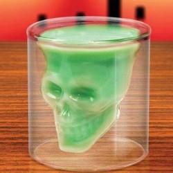Creative Skull Shot prisionero pirata Vodka Copa de cristal