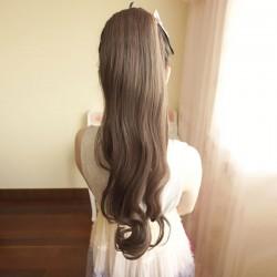Super Natural ondulado cola de caballo / productos para el cabello