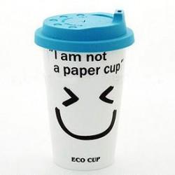 Taza de café de cerámica del color del caramelo de la letra creativa del regalo