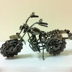 Motocicleta modelo regalo de cumpleaños de novio novio creativo