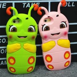 Cajas encantadoras estupendas lindas estupendas de iPhone 4 / 4s / 5 / 5s / 6 / 6p del silicón de Caterpillar