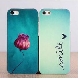 Caso precioso de Iphone de la impresión de la letra de la flor del regalo