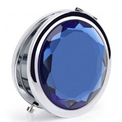 Espejo cosmético de cristal deslumbrante de regalo romántico