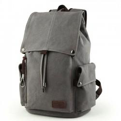 Bandolera retro de la mochila del viaje de la mochila de la escuela del ordenador portátil de la lona de los hombres grandes retros