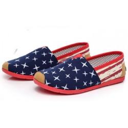 Zapatos de lona transpirables perezosos de estilo informal