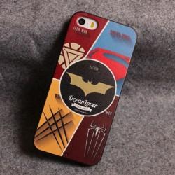 Estatua de Liberty Hero Star Relief Silicone Soft Iphone Cases para 5 / 5S