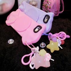 Cajas dulces coloridas dulces del iPhone 6 / 6p del caramelo suave