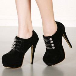Night Club Chain Thin High Heel Shoes