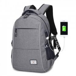 Bolsa de negocios de carga USB simple Mochila deportiva de viaje grande Mochila para hombres