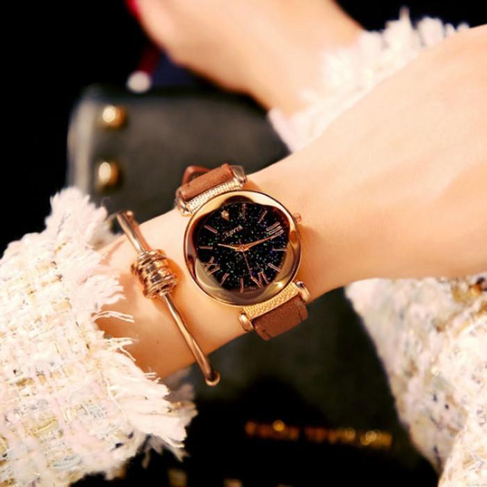 Reloj de mujer de moda Rhinestone impermeable