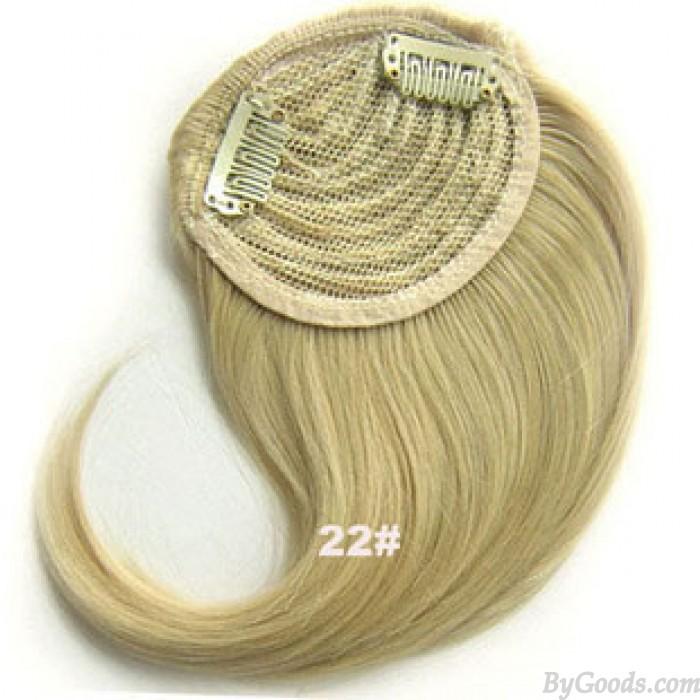 Blond Farben erhältlich Mode synthetische Seite Pony