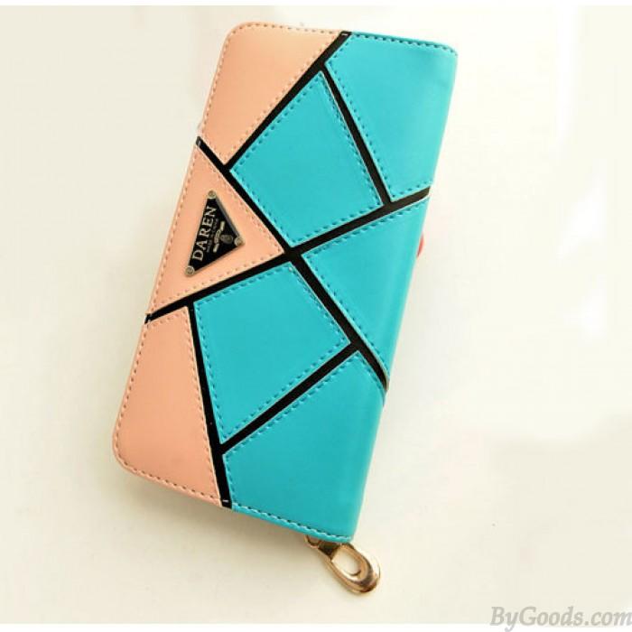 Mode Geometry Kontrast Farbe Brieftasche