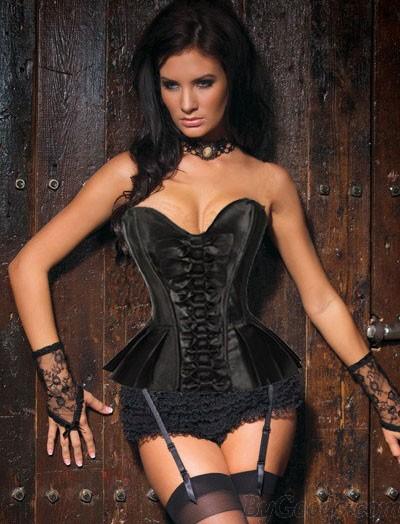 Sexy Aristokratische Mode Prinzessin Korsett