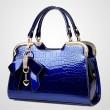 Mode Bogen Steinmuster-Handtasche Schultertasche