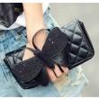 Fashion Black Butterfly Clutch Bag Schultertasche