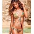 Geometrie Badeanzüge Wellen Bikini Druck Badeanzüge Bikini Set