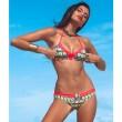 Volk Rot Badeanzug Sexy Bikini-Badebekleidung Badeanzug